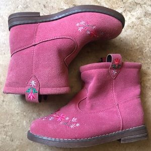 NWT Hanna Andersson Ankle Booties Girls 11